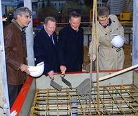 Grundsteinlegung der SCHULTHEISS Wohnbau AG