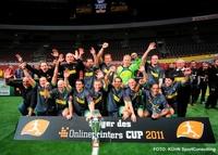Internationales Hallenfußballturnier Onlineprinters-CUP 2012 in Dortmund
