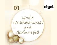 Weihnachten 2012:   Weihnachtswelt und Gewinnspiel von Sigel