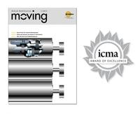Logistik Spezialist Interroll gewinnt ICMA Award für neues Kundenmagazin