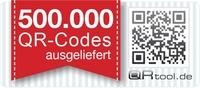 QRtool.de liefert bereits 500.000 individuelle QR Codes in 30 Tagen aus