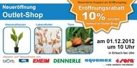 Onlineshop bachflohkrebse.de eröffnet Aquaristik Outlet-Shop