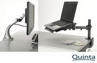 Quinta erweitert Ergonomie Portfolio mit Ständern und Halterungen
