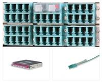 Lichtleitende LC Duplex Staubschutzkappen aus dem Hause tde - trans data elektronik