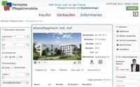 Neu: Seniorenresidenz Hof Pflegeimmobilie in Bayern