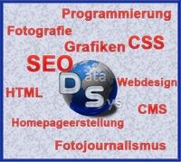 Suchmaschinenoptimierung  (SEO)  Webdesign und Programmierung