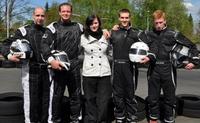 Main-Zelt unterstützt das Kart-Team von PixelX-Racing