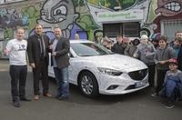 Neuer Mazda 6 für SOS-Kinder- und Jugendhilfen Düsseldorf