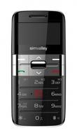"""simvalley MOBILE Komfort-Mobiltelefon """"Easy-5 PLUS"""" silber, Garantruf"""