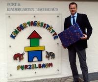 iT-CUBE unterstützt Dachauer Kindergarten und Hort mit Sachspende