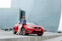 SEAT Markenbotschafter Christian Deerberg und David Kross testen den neuen Leon