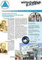 Jubiläums-Kundenzeitung wirtschaftlich BAUEN vom Ingenieurbüro für Bautechnik