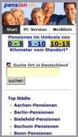 pension.de mit neuer APP für die Umkreissuche vom Standort