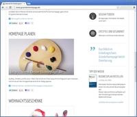Erfolgreiche Homepage für Existenzgründer