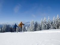 """""""Schneewochen"""" in den Ammergauer Alpen bescheren sportlich-sanfte Winterabenteuer"""