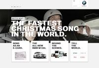 BMW-Weihnachtskampagne: Der schnellste Weihnachtssong der Welt