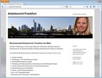 Rechtsanwalt Arbeitsrecht in Frankfurt: Rechtsanwältin Sonja Reiff stellt sich vor