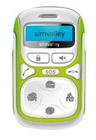 simvalley MOBILE Kinder-Handy KT-612 mit Garantruf Easy