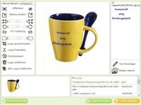 Werbeartikel mit individuellem Text einfach online gestalten und bestellen