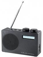 VRradio Mobiles DAB+/FM-Radio DOR-100.rx mit RDS-Funktion