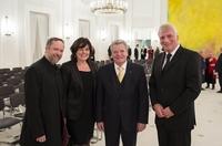 BWA-Senatoren treffen Bundespräsident Joachim Gauck