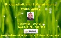 Solarreinigung Galley Ihr Profi für die Reinigung von Photovoltaik & Solaranlagen.