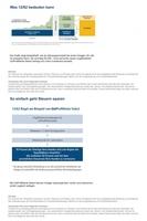 Attraktive Lösungen für Vermögende - Steueroptimiert Geld anlegen