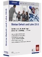 Sichere Entgeltabrechnung mit Stotax Gehalt und Lohn 2013!