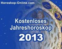 Das Jahreshoroskop 2013 von Horoskop-Online.com verrät wie das Jahr wird