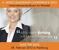 3. Mixed Leadership Conference am 28. Februar 2013 in Hamburg
