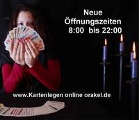 Neue Beraterzeiten bei Kartenlegen-online-orakel.de