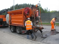 Neue Möglichkeiten für die kleinflächige Straßensanierung