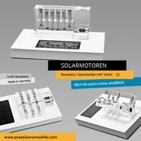 Business-Geschenke mit Wert: Solarmotoren