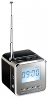 "auvisio Mini-MP3-Station ""MPS-550.cube"" mit integriertem Radio"