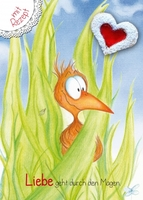 Kinderliebling Horst der Specht kommt als Postkarte auf den Markt