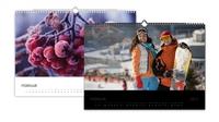 Mit Fotokalendern von ifolor kreativ ins neue Jahr starten