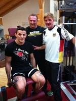 Boxer Robin Krasniqi: WM-Vorbereitung in der Sportschule Vitalis