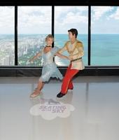 Chicago: Schlittschuhvergnügen in schwindelnden Höhen