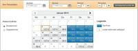 Der hotel.de-Preiskalender  mit neuem Feature das Wunschhotel zum günstigsten Preis