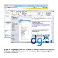 E-Mail-Archivierungslösung dg mail von dataglobal mit neuem Release