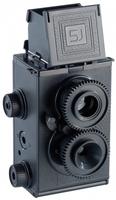 Somikon Zweiaeugige Spiegelreflex-Lomographie-Kamera zum Selberbauen