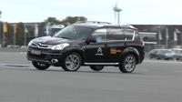 Spezielles Training für SUV-Fahrer im ADAC Fahrsicherheitszentrum Hansa/Lüneburg