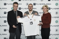 flyeralarm wird Premium-Partner der Frauenfußball-Nationalmannschaft