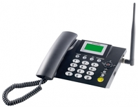 simvalley GSM-Tischtelefon TTF-402 mit SMS-Funktion und Akku-Betrieb