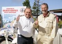 Treffen der Legenden beim Internationalen Edelweiß Bergpreis Roßfeld Berchtesgaden