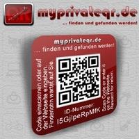 myprivateqr...Jetzt kostenlos eigenen QR Sicherheitsaufkleber ausdrucken.