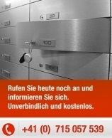 Geldanlage in der Schweiz - Sicherheit vor der EU Falle