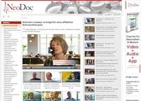 """Medizinisches Videoportal """"NeoDoc"""" mit nützlichen Antworten von Experten"""