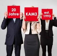 Kommunikationsagentur KAM3 feiert 20jähriges Bestehen