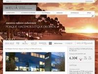 Meliá Hotels International gestaltet neue Unternehmens-Webseite barrierefrei